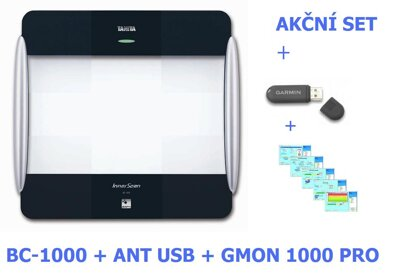Tanita BC-1000 + ANT Stick + software TANITA FIT